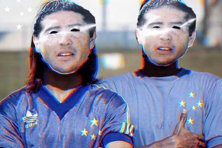 """Los tres """"Riquelmes"""" que integraron el once titular en un Sub-20 del Cruzeiro"""