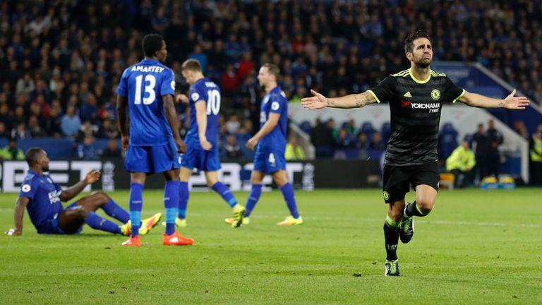 Cesc fue el héroe de Chelsea ante Leicester