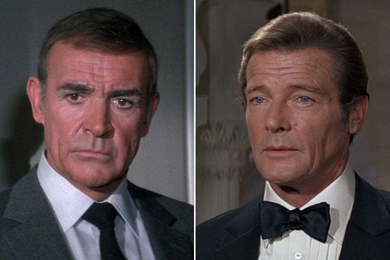 """Murió Sean Connery: el recuerdo de su """"batalla de los Bond"""" contra Roger Moore"""