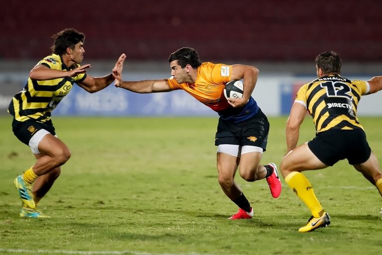 Jaguares XV derrotó a Peñarol por 46 a 17 en el último partido de la jornada final de la primera etapa de la Superliga Americana de Rugby 2021
