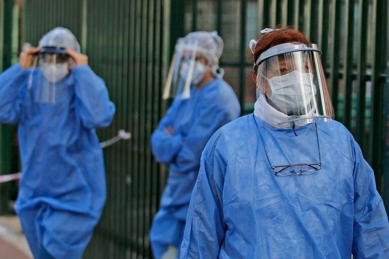 OPERATIVO DETECTAR EN PALERMO  Covid_19 coronavirus                              FOTO: RICARDO PRISTUPLUK