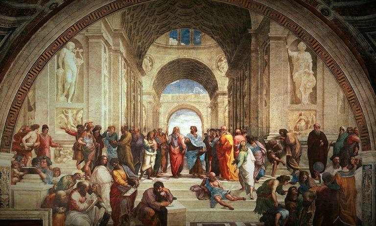 """""""La escuela de Atenas"""", según un maestro de la pintura"""