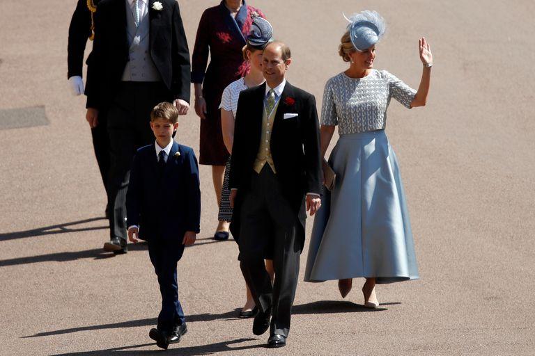 Boda real: cómo fue la llegada de los royals