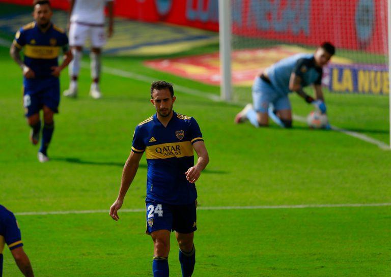 Boca - Lanús, por la Copa de la Liga: el equipo de Russo gana con gol de Izquierdoz y se mete en los cuartos de final