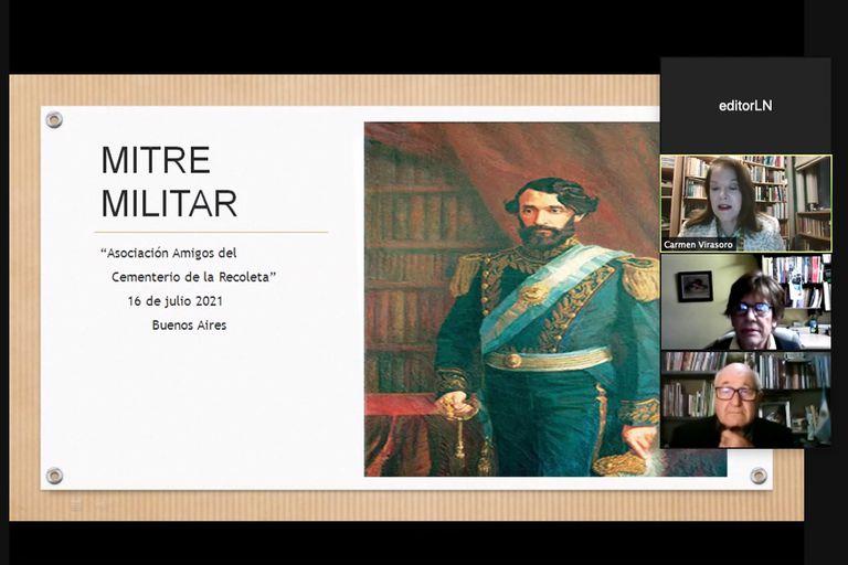 Bicentenario del nacimiento de Mitre: homenaje a su trayectoria militar