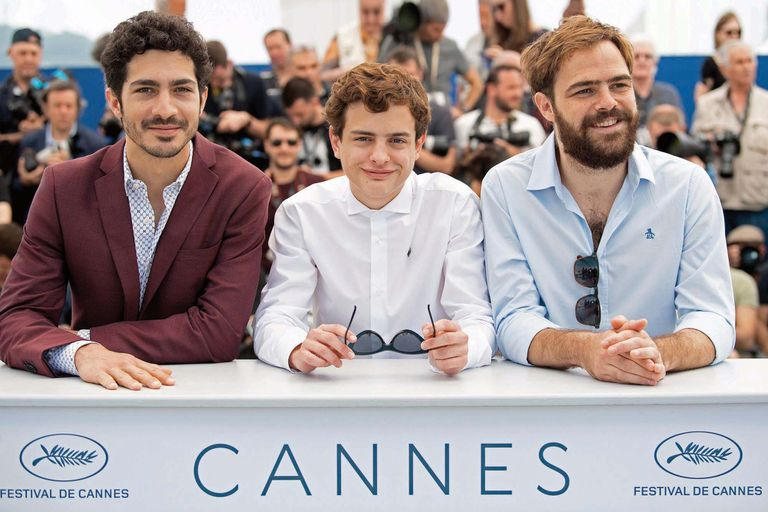 A mediados de mayo, Toto viajó a Francia con el resto del elenco para el estreno mundial del film en el Festival Internacional de Cine de Cannes. Allí posó con sus colegas Chino Darín y Peter Lanzani.