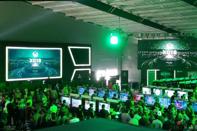 En la Xbox Fan Fest de Ciudad de México también se llevó a cabo la XO18, la conferencia global de videojuegos de la consola de Microsoft