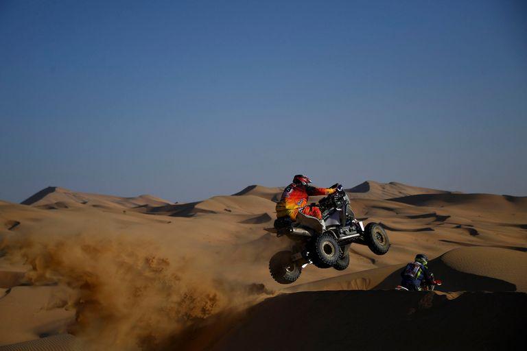 Dakar. Un argentino ganador en la segunda etapa de cuatriciclos