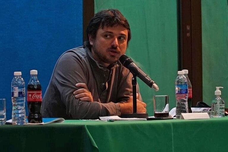 Juan Grabois propuso un particular brindis en sus redes sociales y repudió el crecimiento de Mercado Libre