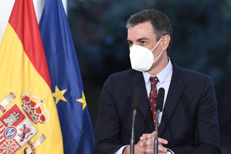 10-06-2021 El presidente del Gobierno, Pedro Sánchez, durante su visita a Buenos Aires ECONOMIA POOL MONCLOA/BORJA PUIG DE LA BELLACASA