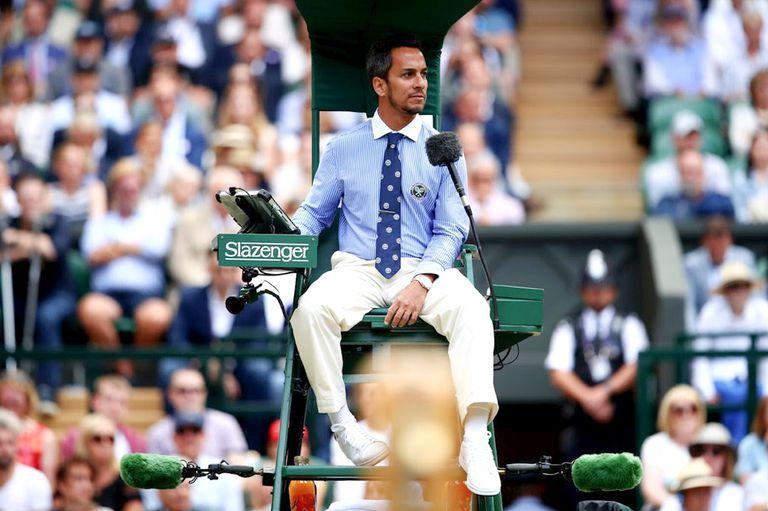 Las razones del despido de Steiner, el umpire argentino en la final de Wimbledon