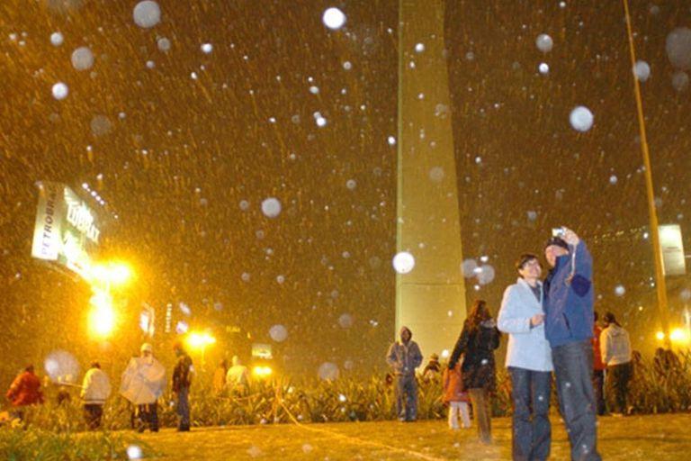 ¿Puede volver a nevar en la ciudad de Buenos Aires?