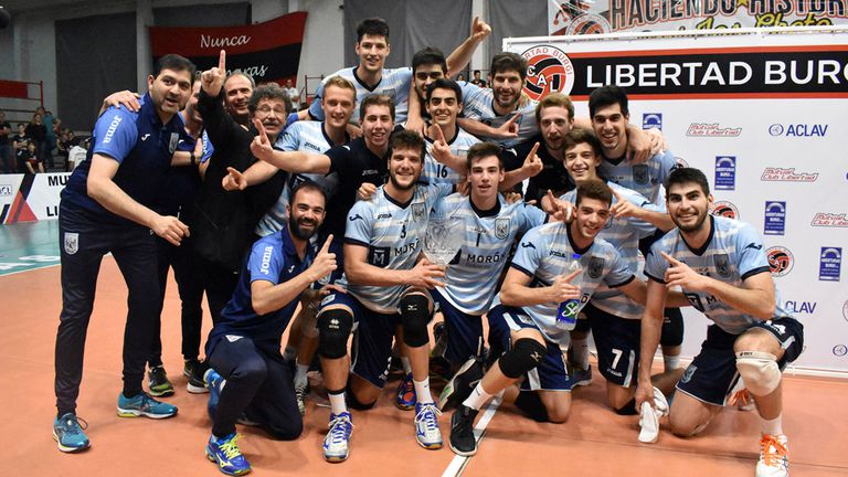 Ciudad festeja su título en la Copa ACLAV
