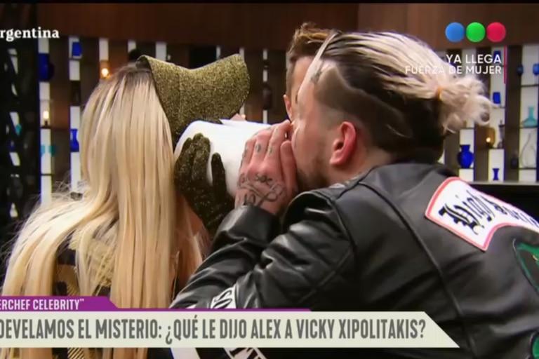 Vicky Xipolitakis reveló qué le dijo Alex Caniggia al oído