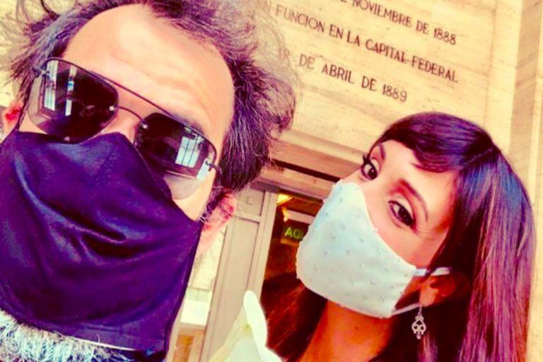 Tras 20 años juntos, Martina Gusmán y Pablo Trapero se casaron en plena pandemia
