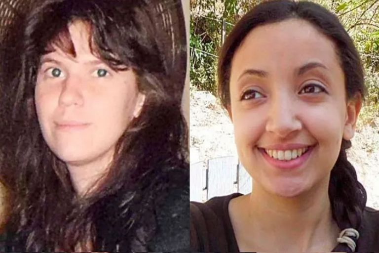 Las turistas francesas Cassandre Bouvier y Houria Moumni, asesinadas en la Quebrada de San Lorenzo, en Salta, en julio de 2011