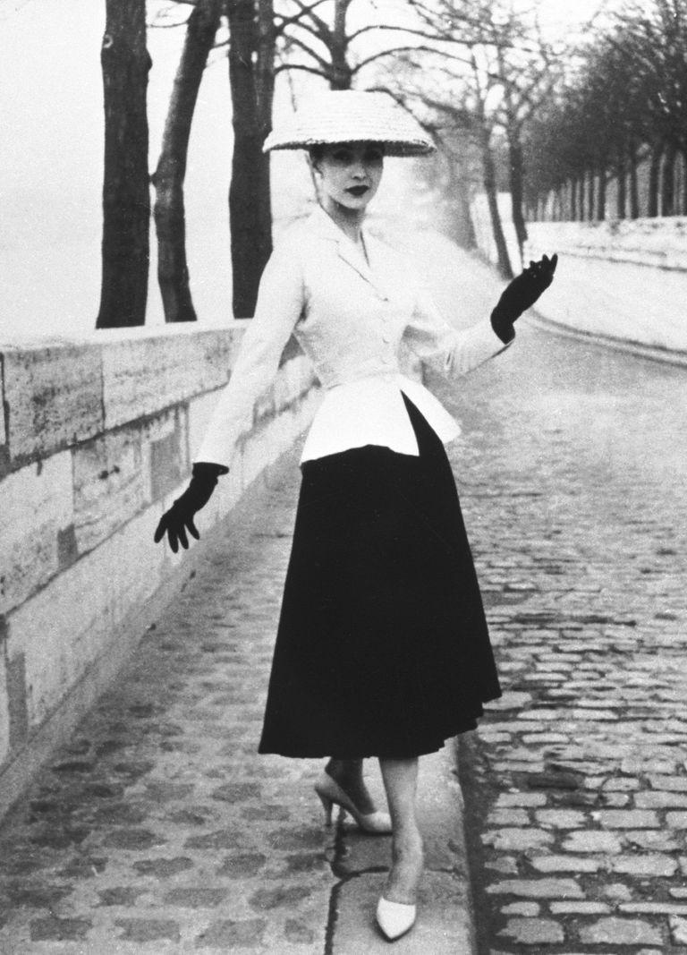 El New Look propuesto por Christian Dior en 1947