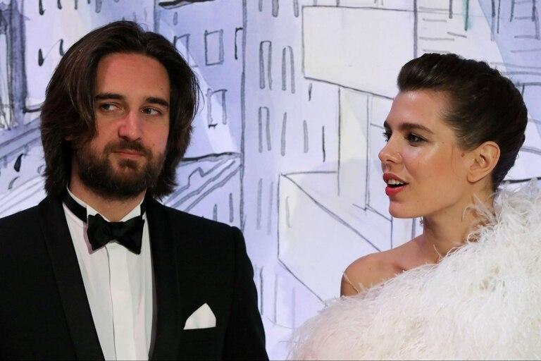 Charlotte Casiraghi y su novio, Dimitri Rassam