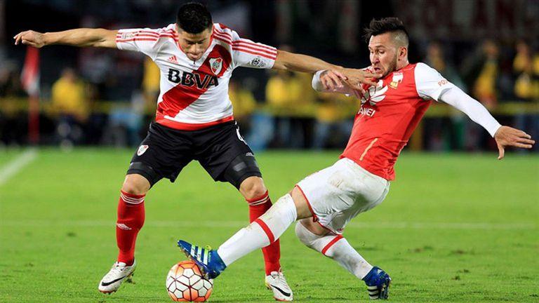 River podría jugar ante Independiente Santa Fe
