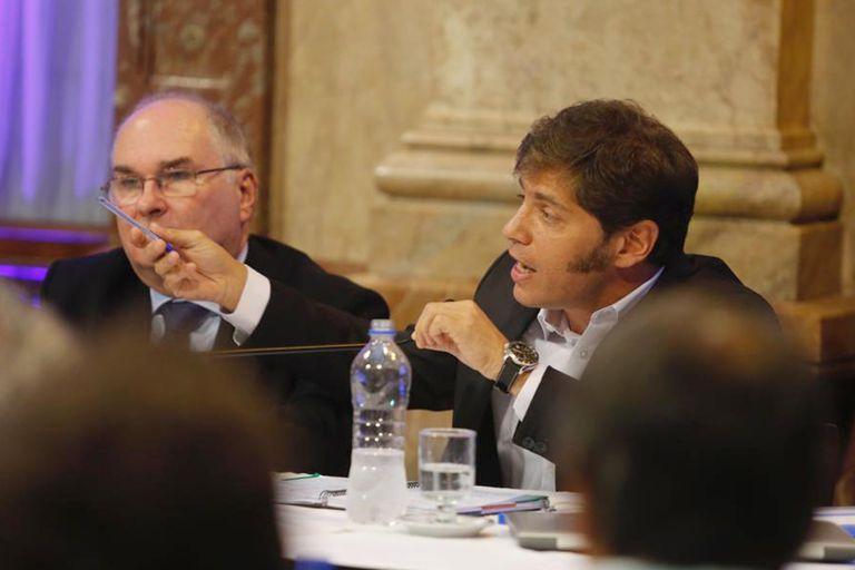 Kicillof hizo preguntas sobre la deuda y las offshore