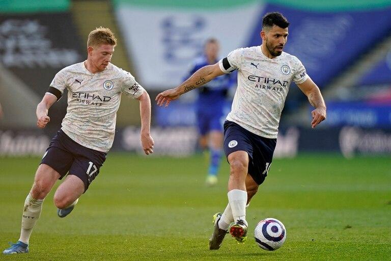Leicester City - Manchester City: con Sergio Agüero como titular, su equipo ganó y lleva 17 puntos de ventaja - LA NACION