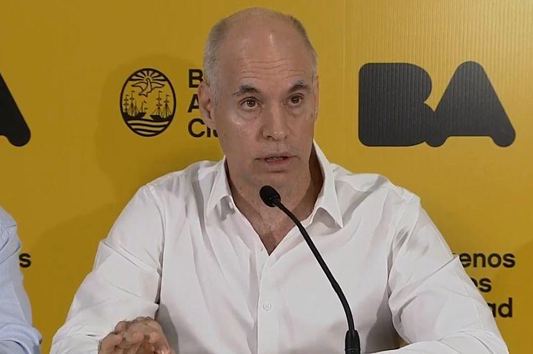 Coronavirus: Horacio Rodríguez Larreta anuncia nuevas medidas