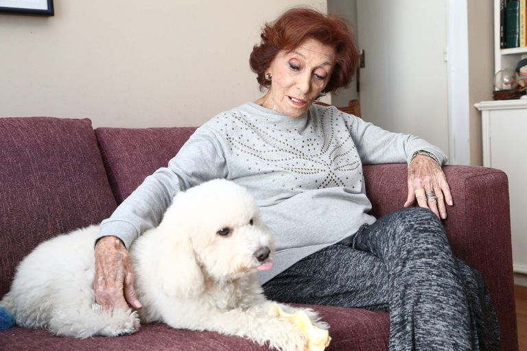 Tras vencer el Covid, Hilda Bernard festejó sus 100 años