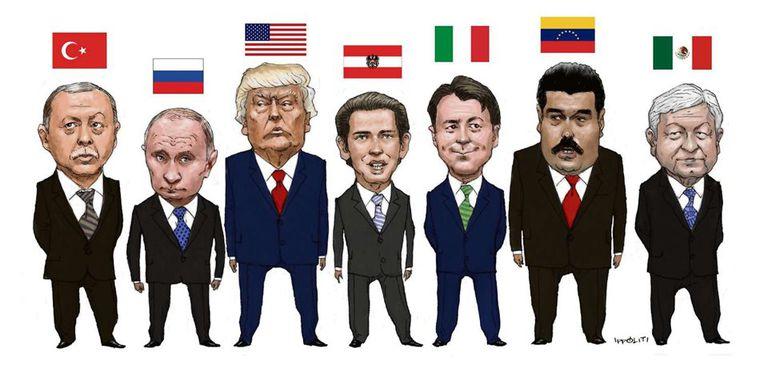 Populista: la misma palabra para líderes bien diferentes