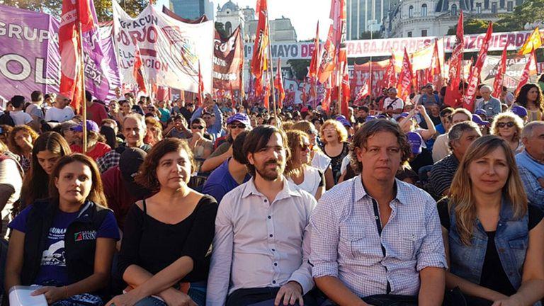 La izquierda va dividida en distintas listas en Ciudad y en Provincia