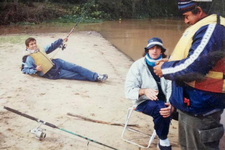 De pesca con amigos