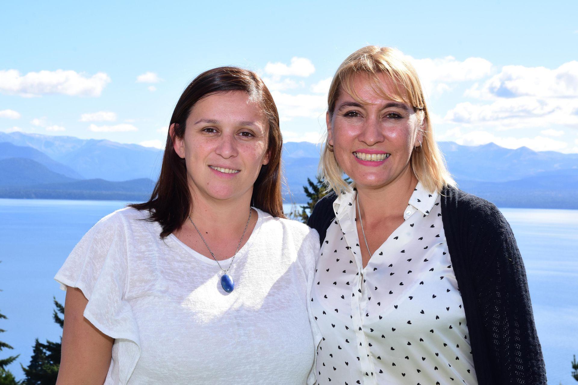 Flavia Boschi y Lorena Matzen