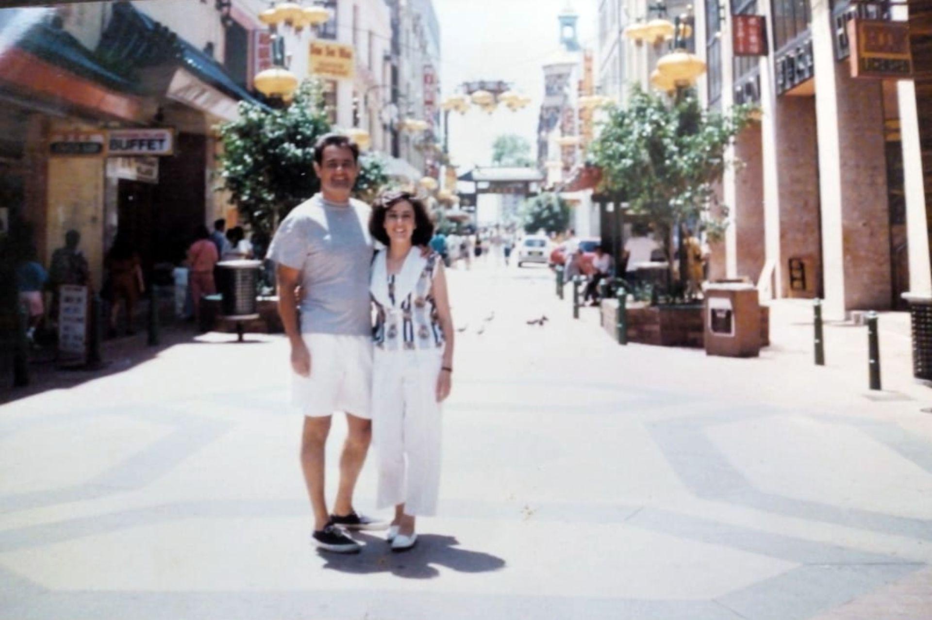 De paseo por el barrio chino de Sídney.