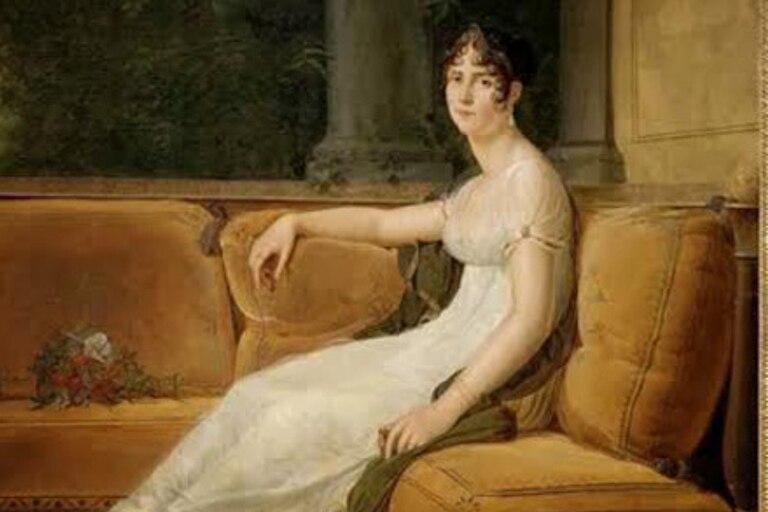 Retrato de Josefina en 1801 del artista Francois Pascal Simon Gerard