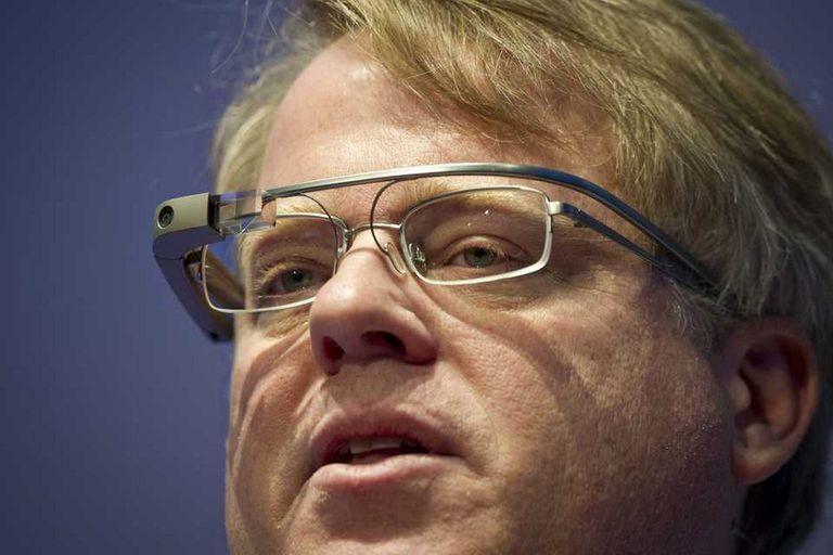 El bloguero Robert Scoble con los Google Glass, los anteojos conectados que no lograron pasar la etapa de prueba