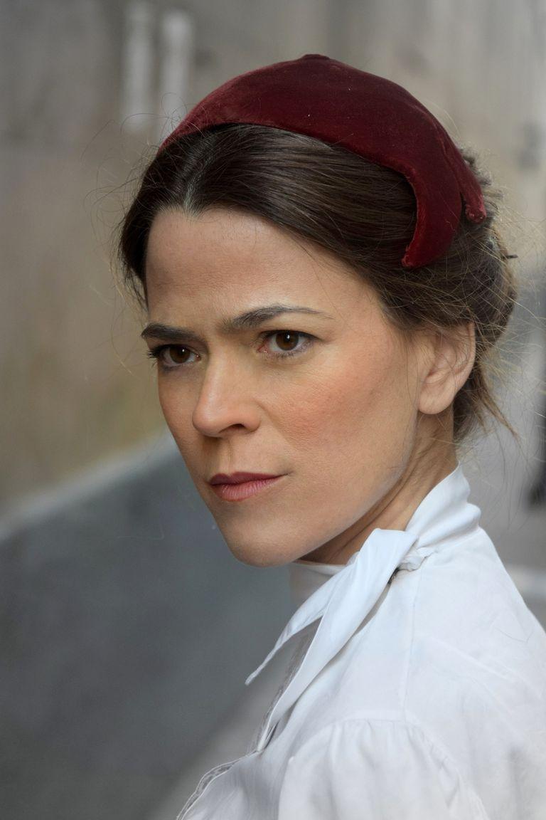 La actriz Celeste Pisapia es retratada como Carolina Muzzilli, destacada gremialista de la historia argentina