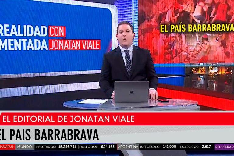 """Jonatan Viale descargó su enojo por la inseguridad: """"Somos un país barrabrava"""""""