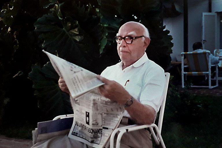 Inquieto hasta el final. Juan Filloy (1894-2000), abuelo de la autora de esta nota, fue jurista y uno de los escritores argentinos más secretos y respetados; poseía un impulso vital que lo llevó a interesarse por casi todo