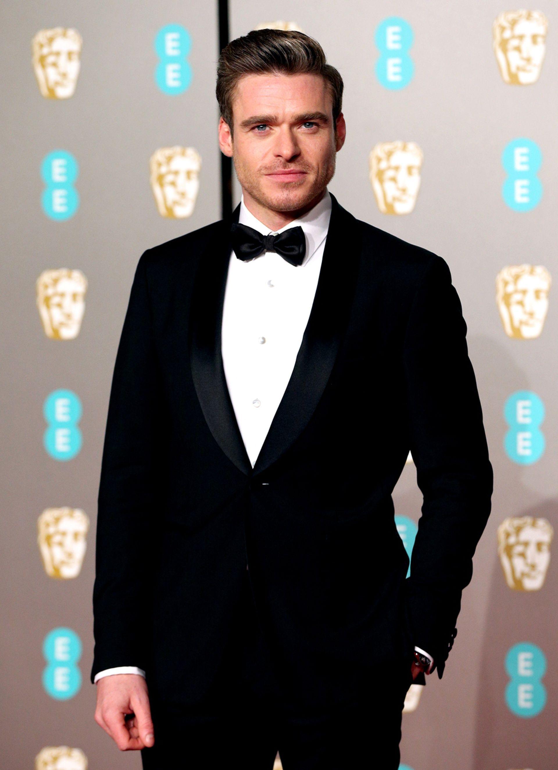 Richard Madden, el protagonista de la serie El guardaespaldas, presente en los BAFTA