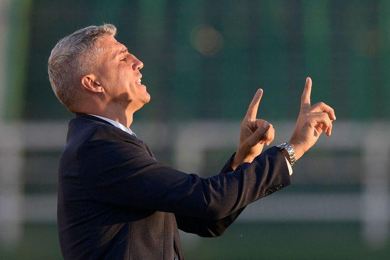 Hernán Crespo consiguió en Defensa y Justicia la segunda oportunidad en el fútbol argentino; antes tuvo un paso por Banfield en el que las cosas no le salieron bien