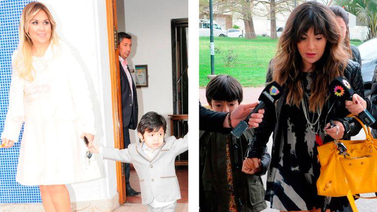 Gianinna Maradona recurrió a sus capturas de chat para desmentir a Verónica Ojeda, respecto del vínculo de Dieguito y sus hermanos.