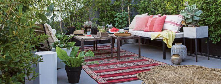 Al fresco. Ideas para crear espacios con onda en la terraza o el jardín
