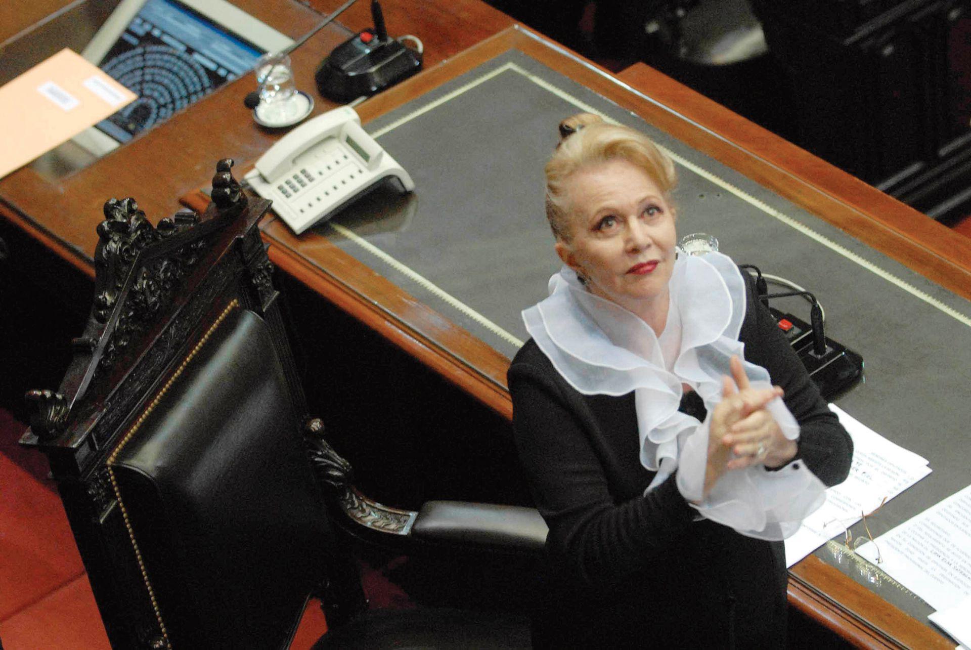 Pinky dedicó años de su madurez a la tarea legislativa