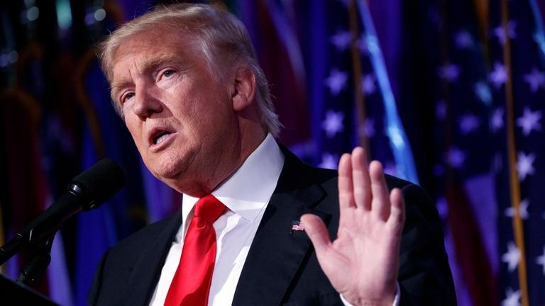 El presidente de Estados Unidos, Donald Trump, es frecuentemente acusado por opositores de distorsionar deliberadamente la realidad en sus discursos