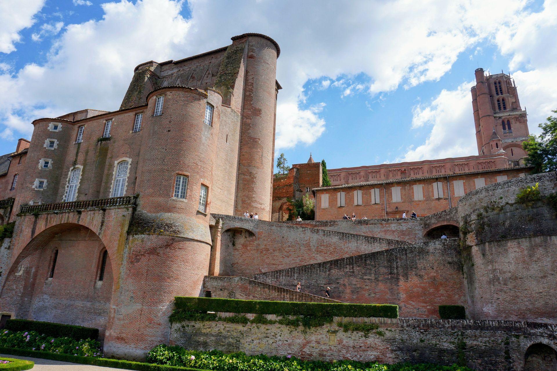 El Berbie Palace, donde está el museo dedicado a Toulouse-Lautrec