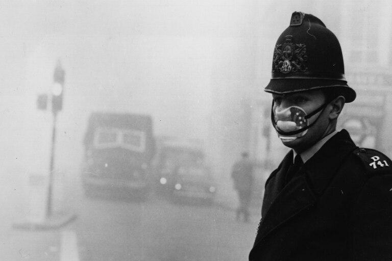 Las nieblas de Londres podían durar hasta una semana y eran contaminantes