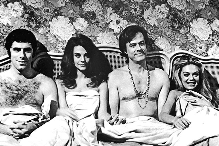 El film Bob y Carol y Ted y Alice (1969), uno de los elegidos de Tarantino