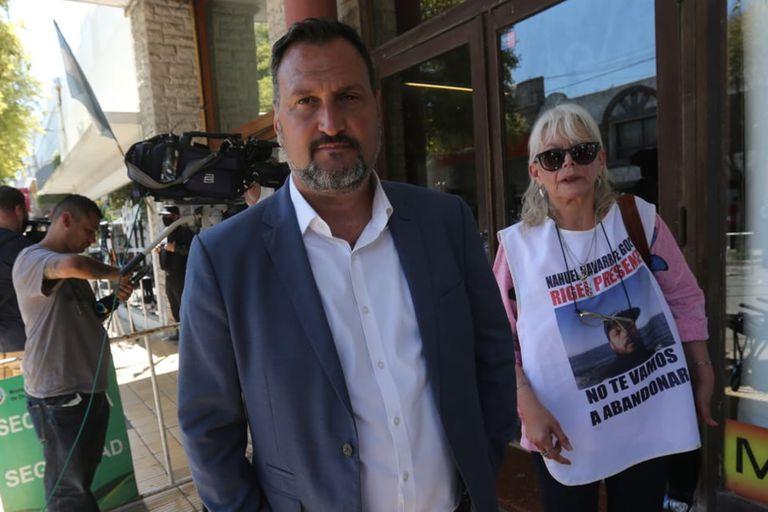 Un representante de los familiares del ARA San Juan se cruzó con Patricia Bullrich