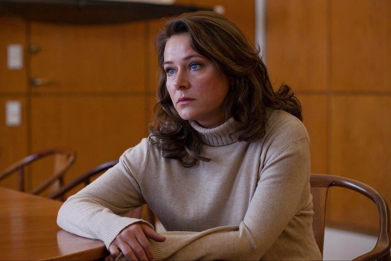 Sidse Babbett Knudsen como la primera ministro Birgitte Nyborg, en la serie danesa Borgen, que hoy llega con sus tres temporadas a Netflix