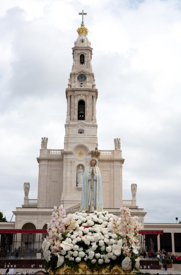 El Santuario de Fátima en Portugal
