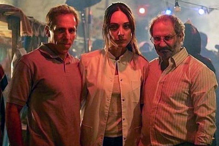 Marcelo Mazzarello, Martina Gusmán y David Masajnik.